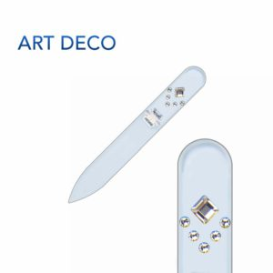 ART DECO Crystal Nail File Short by Blazek title