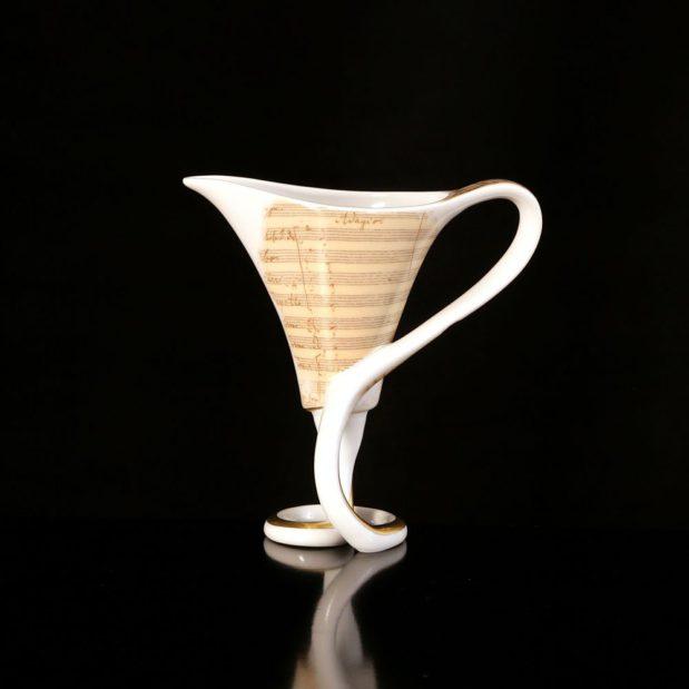 Antonin Dvorak Porcelain Coffee Set Cup Limited Edition Crystallo by Thun Studio 7