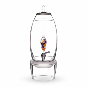 Ayurveda GRANDE dispenser gemstone vial set crystallo by vitajuwel sq10