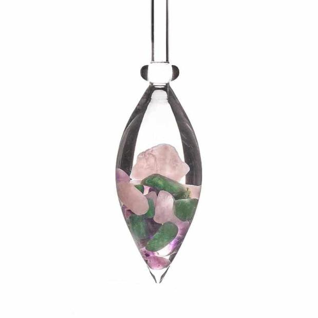 Beauty gemstone vial crystallo by vitajuwel sq80