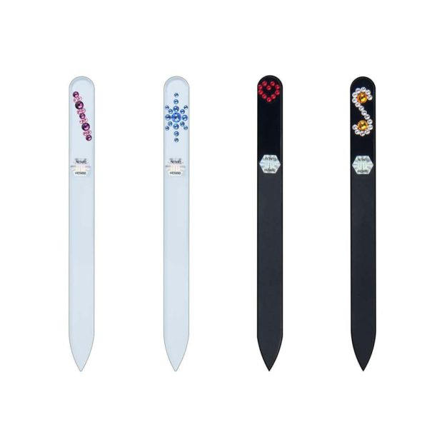 COLORFUL Long 20 Set Crystal Nail File by Blazek
