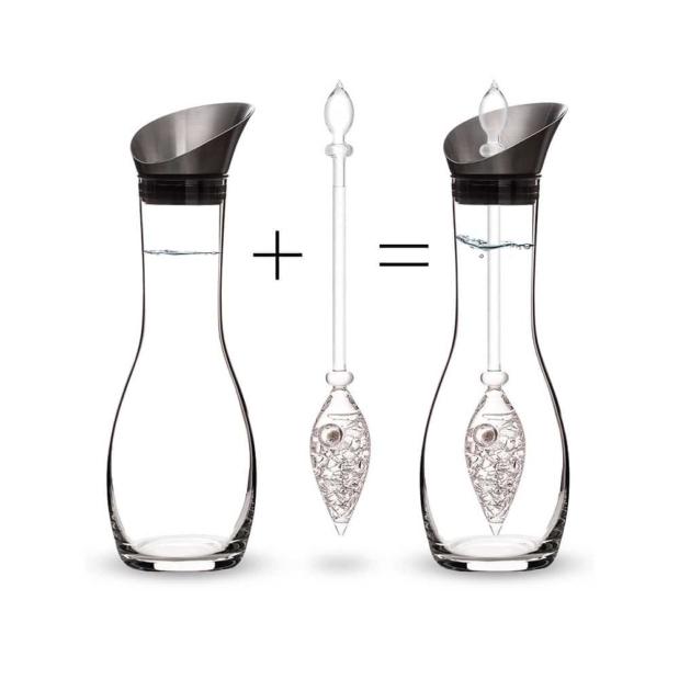 Diamonds ERA decanter gemstone vial how to set crystallo by vitajuwel