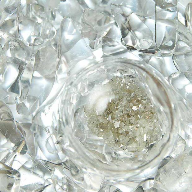 Diamonds macro gemwater crystallo vitajuwel