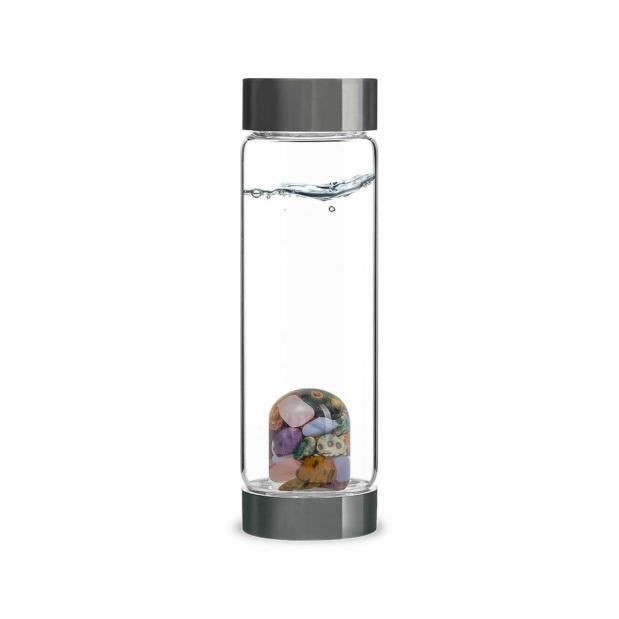 Five Elements Gemstone ViA Bottle Crystallo by VitaJuwel