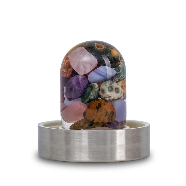 Five Elements gemstone pod GemPod crystallo by vitajuwel sq10
