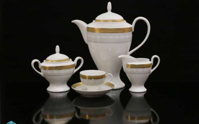 Luxury Porcelain President Set Renaissance Gold