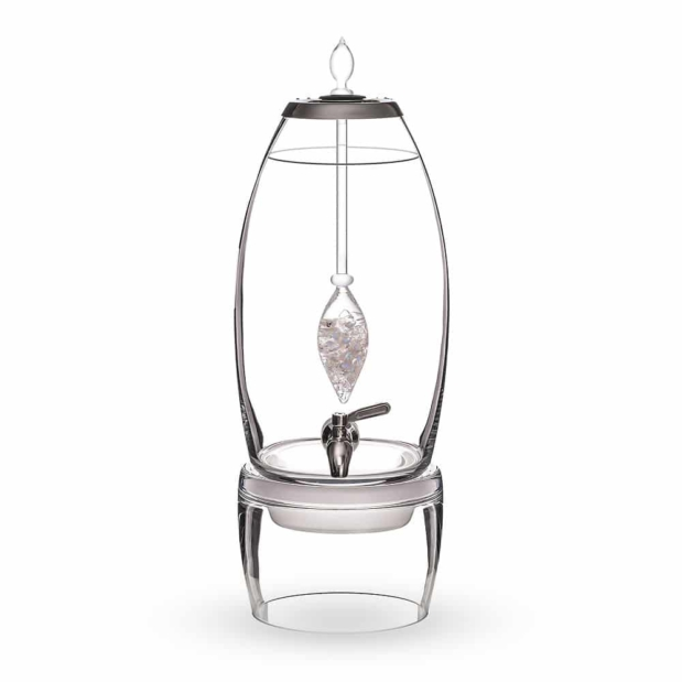 Luna GRANDE dispenser gemstone vial set crystallo by vitajuwel sq10