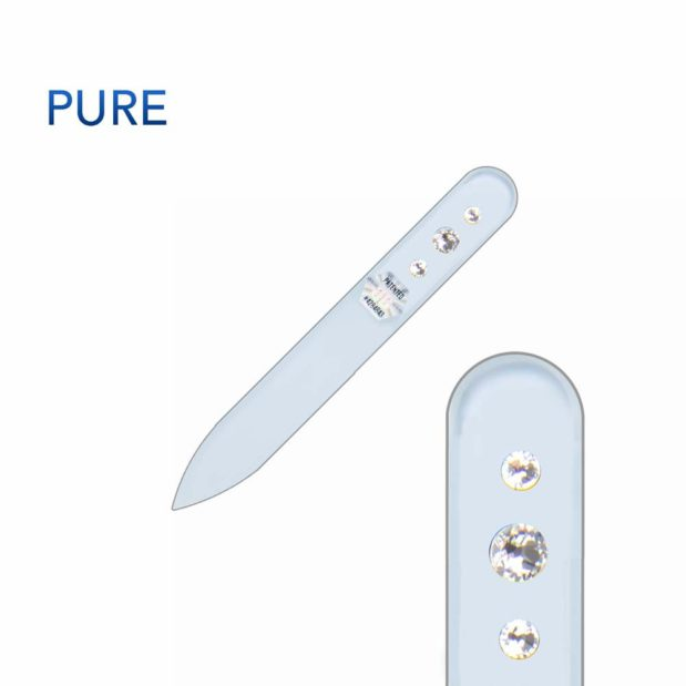 PURE Crystal Nail File Short by Blazek title