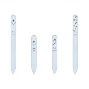 SILVER ELEGANCE 20 Set Crystal Nail File by Blazek