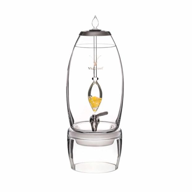 Sunny Morning GRANDE dispenser gemstone vial set crystallo by vitajuwel