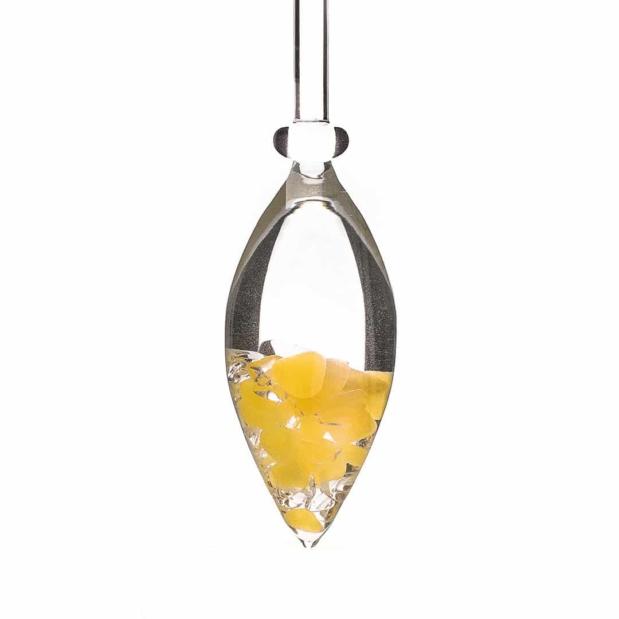 Sunny Morning gemstone vial crystallo by vitajuwel sq18