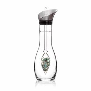 Vitality ERA decanter gemstone vial set crystallo by vitajuwel sq18