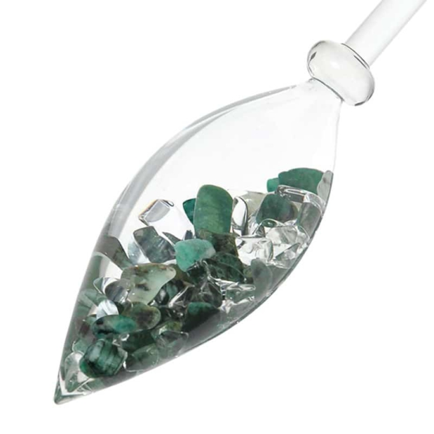 Vitality gemstone vial crystallo by vitajuwel dec sq80