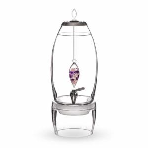 Wellness GRANDE dispenser gemstone vial set crystallo by vitajuwel sq10