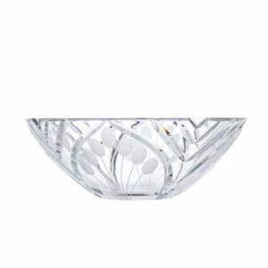 crystal low bowl nostalgia art deco Crystallo BG201NS