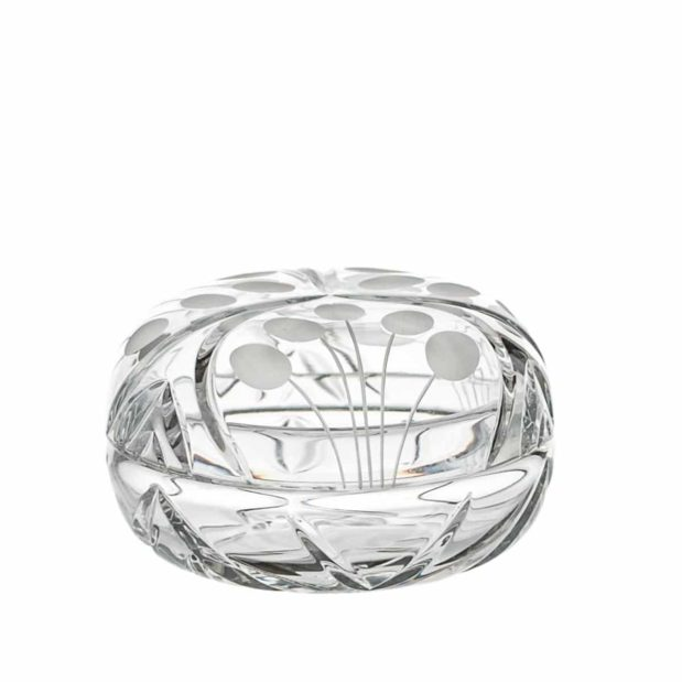crystal ring bowl nostalgia art deco Crystallo BG208NS A