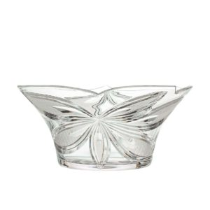 crystal salad bowl orchidea floral Crystallo BG205OR